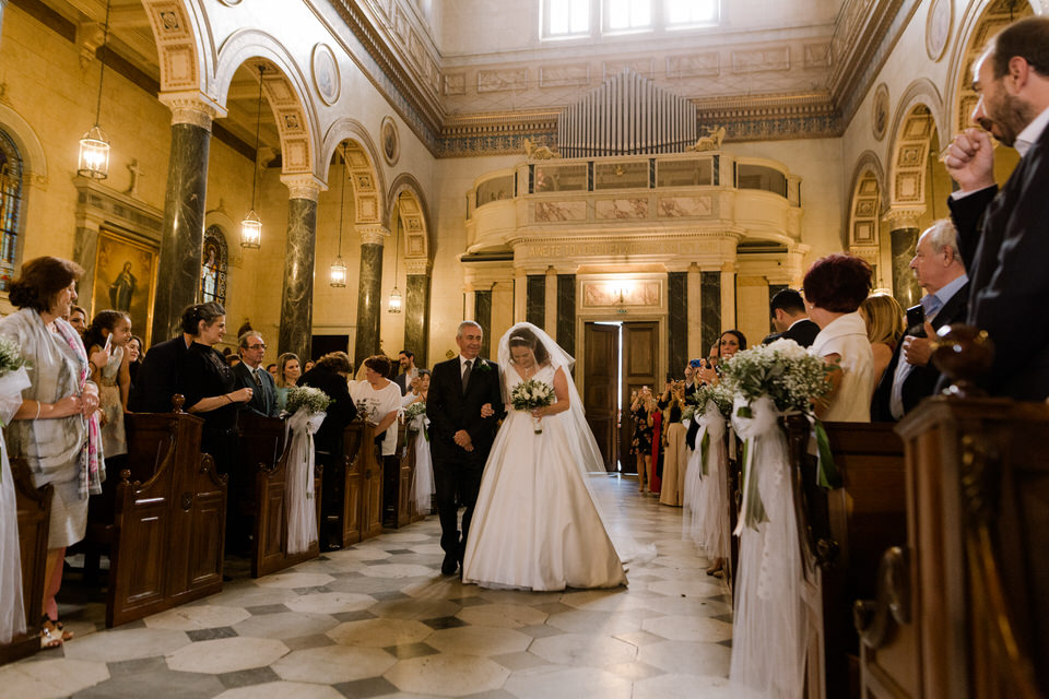 Catholic Wedding in Athens