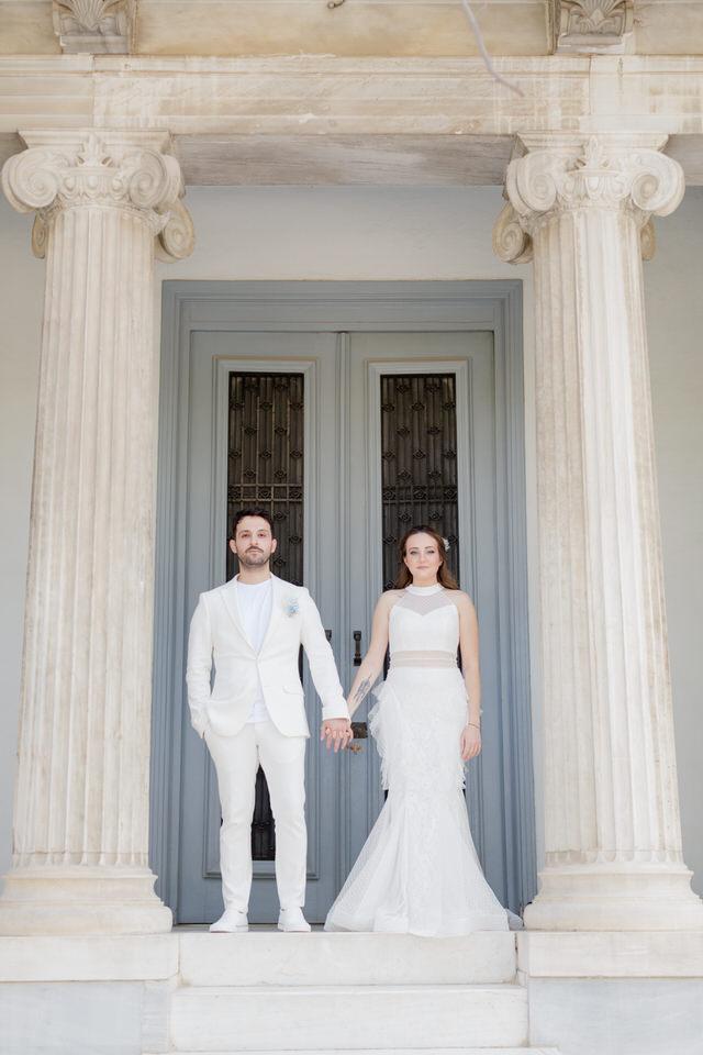Elopement in Athens Greece Greek islands 37   Wedding Photographer in Greece